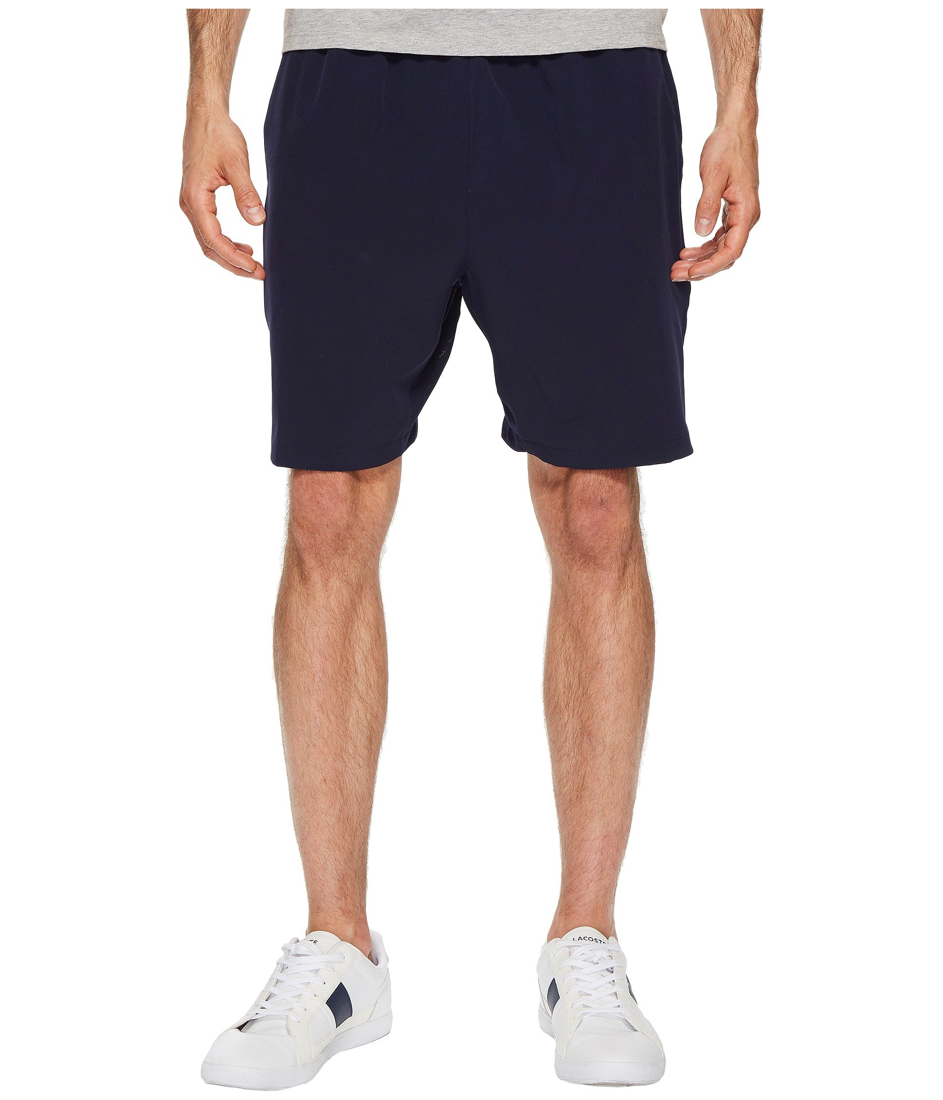 Stretch Taffeta Navy Shorts Blue Lacoste d1Xx7qw7