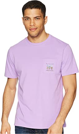Vineyard Vines - Kentucky Derby Short Sleeve Out the Gates Pocket T-Shirt