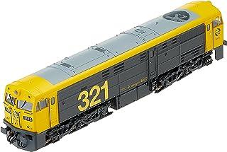 Electrotren E3119D diesellokomotiv rad 321.025 av RENFE/Digital modellbana, svart/gul