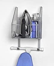 INDIAN DECOR 28471 Ironing Board Holder with Iron Storage Basket