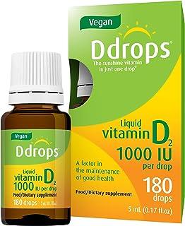 Vegan Ddrops 1000 IU 180 Drops