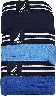 Nautica Men's 3-Pack Boxer Briefs Soft Stretch Modal Underwear
