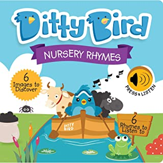 DITTY BIRD Baby Sound Books: Nursery Rhymes Musical Sound Book for Babies is The Perfect Toys for 1 Year Old boy and 1 Yea...