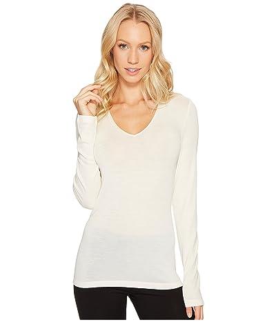 Hanro Woolen Silk Long-Sleeve Shirt 1418