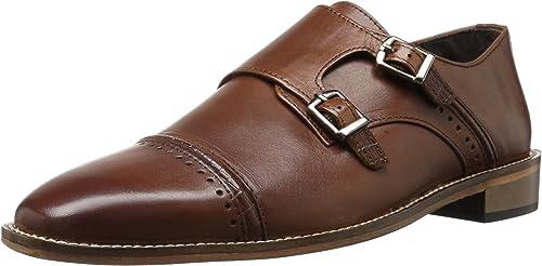 STACY ADAMS ADAMS Hommes's Rycroft Cap Toe Double Monk Strap Oxford, Cognac, 9 M US  choisissez votre préférée