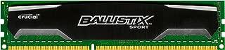 Crucial Ballistix Sport 4 Not a kit (Single) DDR3 1600 (PC3 12800) 240-Pin DDR3 SDRAM BL51264BA160A