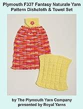Plymouth F337 Fantasy Naturale Yarn Pattern Dishcloth & Towel Set (I Want To Knit)