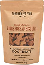 Portland Pet Food Company All-Natural Dog Treat Biscuits – Handcrafted Grain-Free, Gluten-Free, USA Sourced Baked & Made, ...