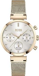 Hugo Boss Reloj Analógico para Mujer de Cuarzo con Correa en Acero Inoxidable 01502553