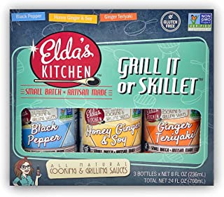 Amazon Com Sauce Gravy Marinade Gifts Elda S Kitchen Sauce Gravy Marinade Gifts Grocery Gourmet Food
