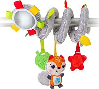 BENBAT Dazzle Friends On The Go Toys Hanging Spiral Toy for New Born and Above, Multi/Colour (BM710)