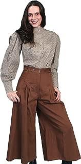 Rangewear Womens Black 100% Cotton Flare Brushed Twill Pants