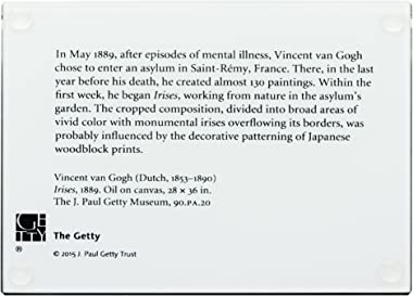 THE J. PAUL GETTY MUSEUM - Van Gogh's Irises - Paperweight