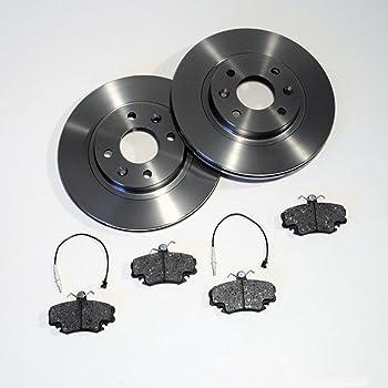 Bremsbel/äge Bremsbelagsatz Set Satz vorne Vorderachse Bremsscheiben vorne /Ø238mm
