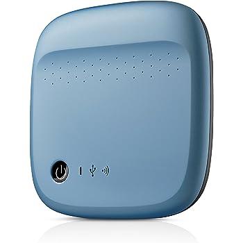 Seagate Wireless Mobile Portable Hard Drive Storage 500GB STDC500400 (Blue)