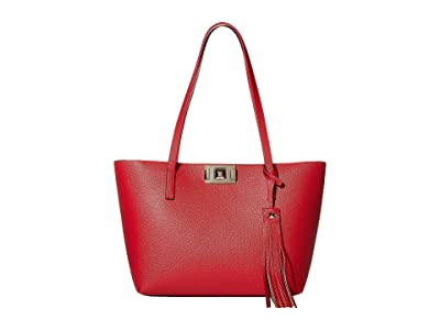 Furla Mimi Medium Tote (Fragola) Handbags
