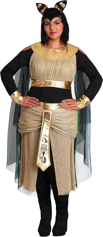 Women\'s Plus Plus Plus Size Bastet Goddess Fancy Dress ...
