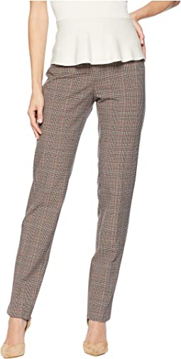 London Plaid Jacquard Slim Pants