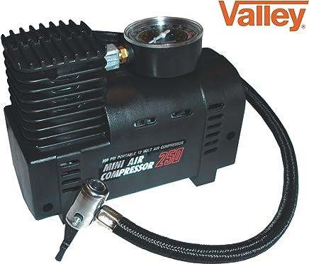 Valley Mini Air Compressor Electric Tire Infaltor Pump 12 Volt Car 12v