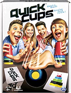 Quick Cups, Match 'N' Stack Family Game for Kids Aged 6 & Up