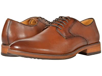 Florsheim Blaze Plain Toe Oxford (Cognac Smooth) Men