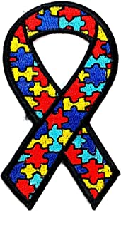 Autism Awareness Embroidered Military Biker Patch Iron or Sew BSPM0988