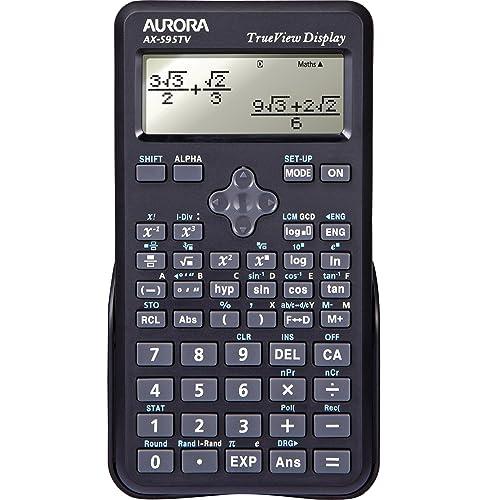 Aurora Dot Matrix Scientific Calculator - Black (Pack of 1)