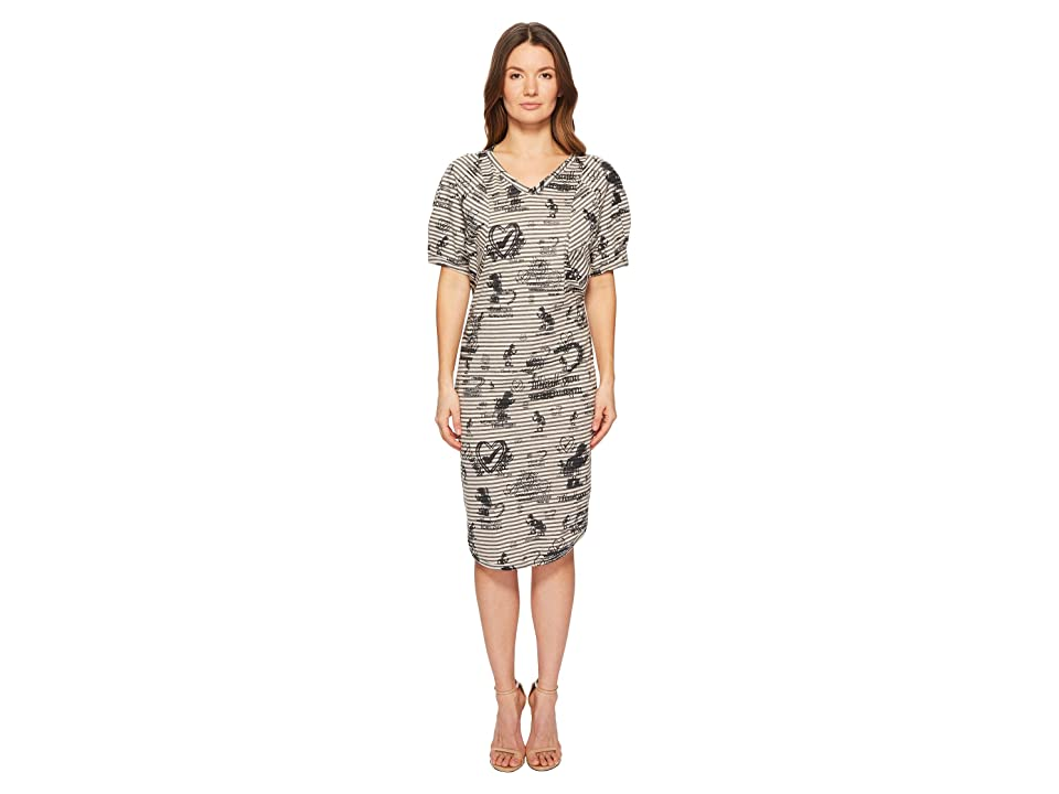Vivienne Westwood Pier Point Stripe Dress (Grey) Women