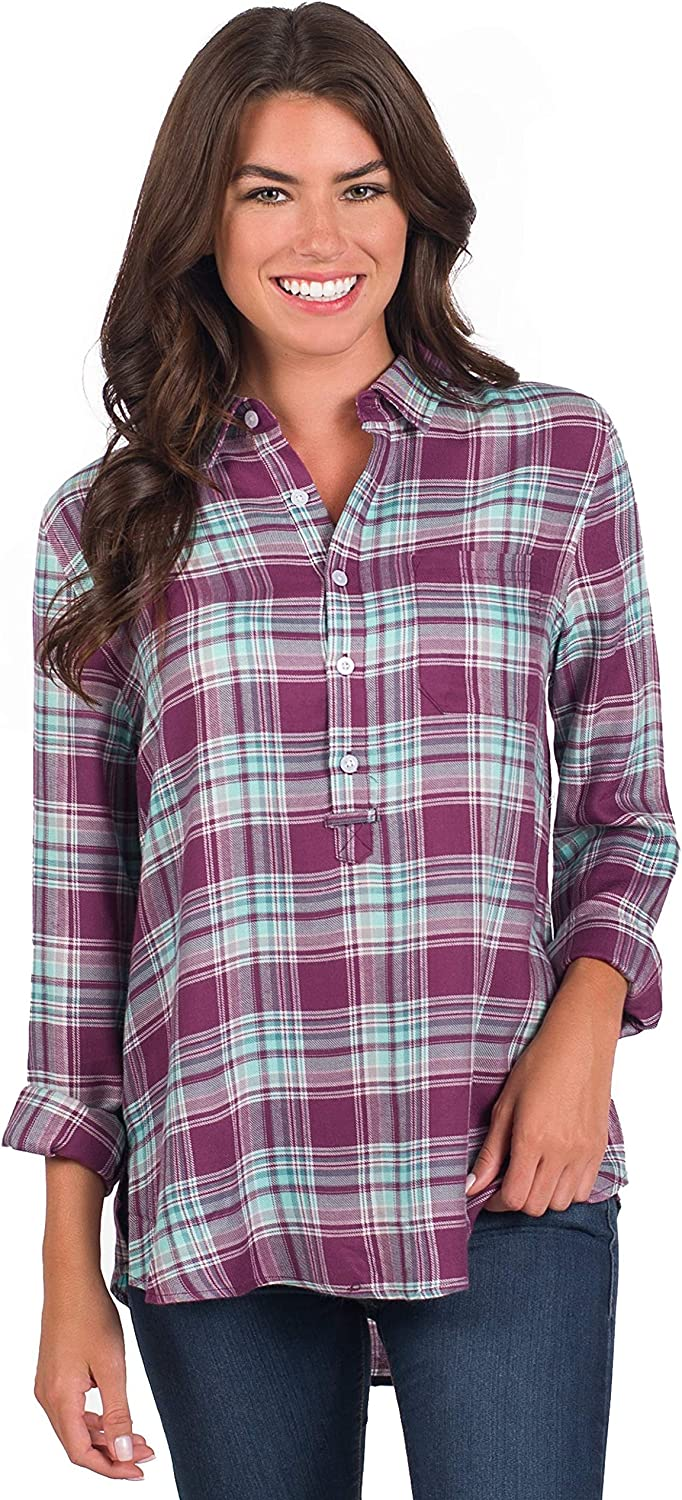 Southern Shirt Taylor Popover In stock Gorgeous Tunic