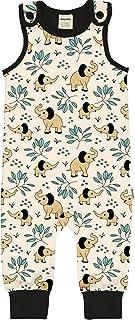Maxomorra Meyadey Baby Strampler Playsuit Elephant Garden