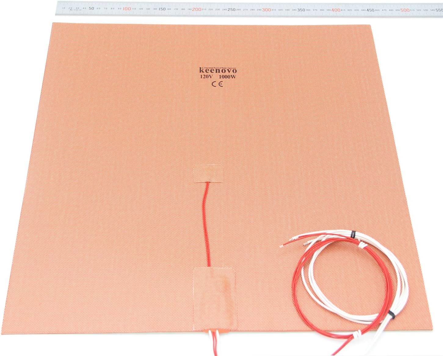 Factory outlet 450mm x Portland Mall KEENOVO Silicone Heater Format Industria Pad Large