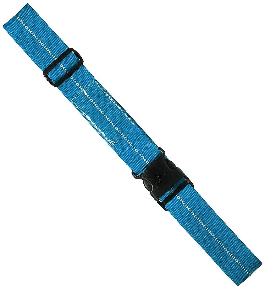 クレータークマノミ確かに[イーグルクリーク] リフレクティブラゲッジストラップ キャリーケースベルト 181 cm 0.012kg ブリリアントブルー
