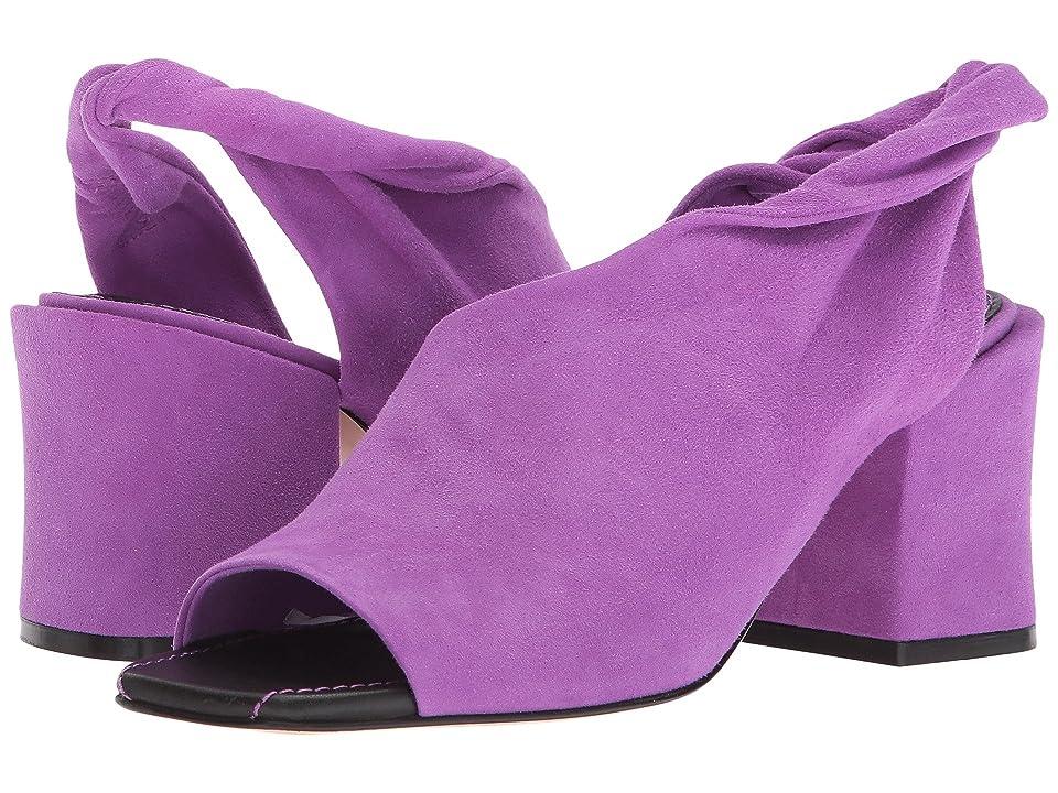 Sigerson Morrison Lenny (Purple Soft Suede) Women