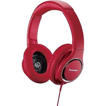 パナソニック 密閉型ヘッドホン ハイレゾ音源対応 レッド RP-HD5-R