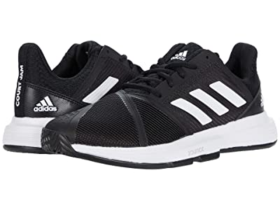 adidas CourtJam Bounce (Core Black/Footwear White/Core Black) Men