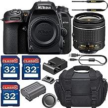 Nikon D7500 DSLR Camera & AF-P 18-55mm VR Lens with 3 Memory Card Bundle
