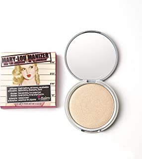 theBalm, Manizer Beauty Kit, Translucent Pressed Matte Shimmer Mary Skincare Cheeks Face Powder, Betty Lou