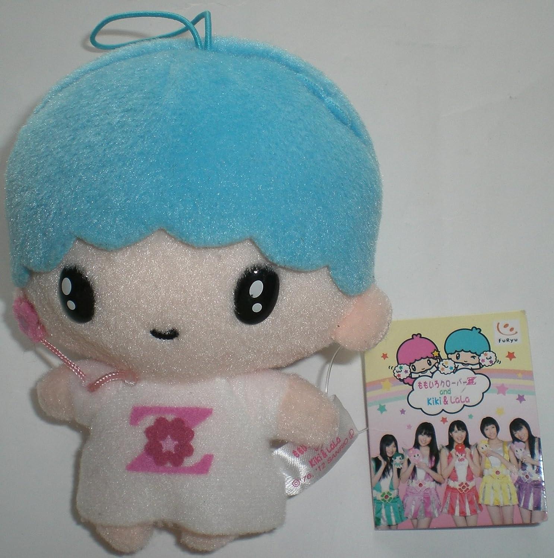 Momoiro Clover Z and Kiki & LaLa mascot Kiki separately Kikirara doll stuffed peach black Sanrio prize Fleurs