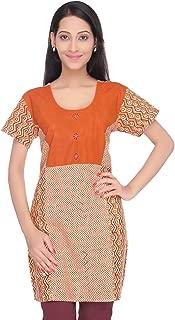 Women's Hand Block Printed Cotton Kurti