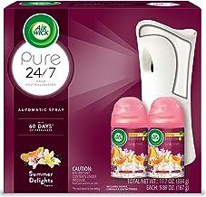 کیت استارت اسپری اتوماتیک Air Wick Pure Freshatic، (اسباب بازی + 2 پر کردن) ، تابستان لذت ، تازه کننده هوا ، روغن ضروری ، خنثی سازی بو ، بسته بندی ممکن است متفاوت باشد
