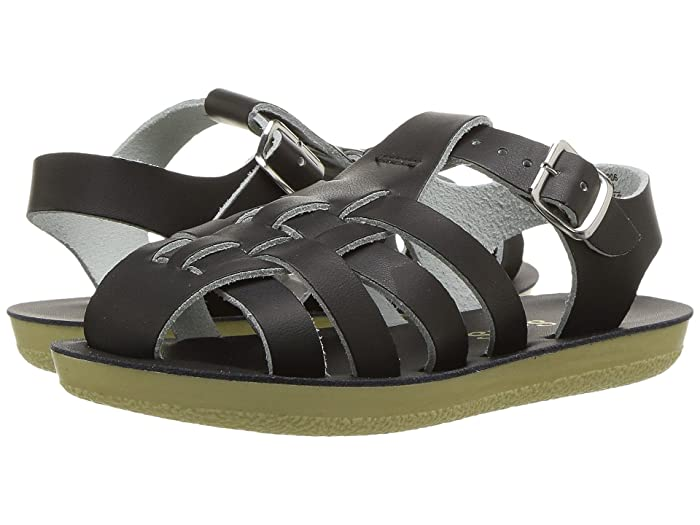 Salt Water Sandal by Hoy Shoes  Sun-San - Sailors (Toddler/Little Kid) (Black) Kids Shoes