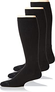 Dr. Scholl's Men's Work Compression Over The Calf Socks 3 Pair DSM22025O3U4001