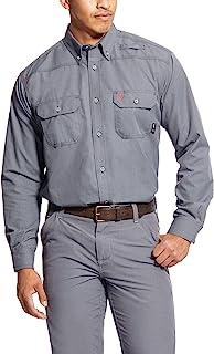 ARIAT Men's Fr Featherlight Work Shirt Gunmetal