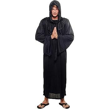 DRESS ME UP - L062/52 Disfraz Hombre Mujer Unisex verdugo brujo ...