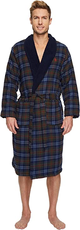 Original Penguin - Fleece Line Robe