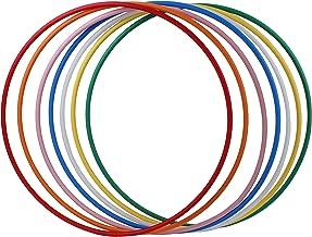 hoopomania® Hula Hoop Holle HDPE-20 mm, Ø60/70/80/90/100 cm, gekleurd