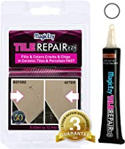 MagicEzy Tile REPAIRezy - (White) - Fix and Color Tile Cracks and Chips in Seconds