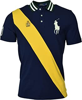 Polo Ralph Lauren Men's Banner Short Sleeve Mesh Polo Shirt