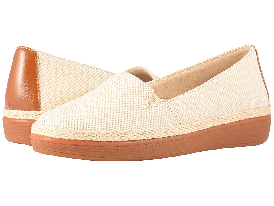 Trotters Accent (Natural/Rust Linen/Smooth Man Made) Women