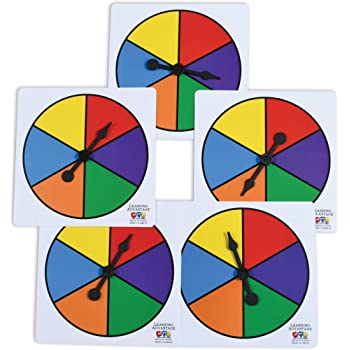 Board Game 2.75 Board Game Arrow Spinners with 4 Blank White Spinner Boards 8 Sets DIY